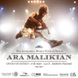 Ara Malikian llega al Auditorio Nacional