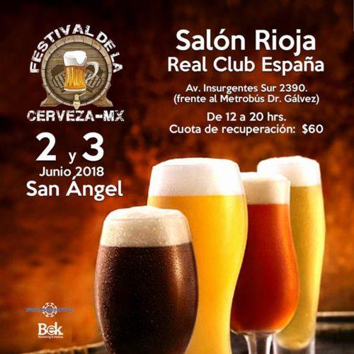Festival de la Cerveza Mx- Salón Rioja- Banner-