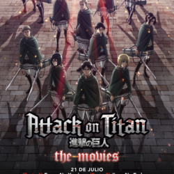 """""""Attack on Titan"""" llegará a cines de México"""