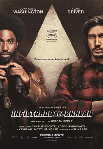 Llega a los cines Infiltrado en el KKKLAN