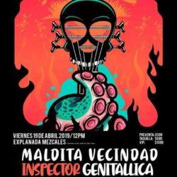FESTIVAL DE ROCK RIVIERA NAYARIT 2019 – MALDITA VECINDAD, GENITALLICA, INSPECTOR Y MÁS