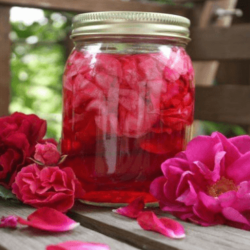 Secretos de Belleza - Exfoliante de Rosas