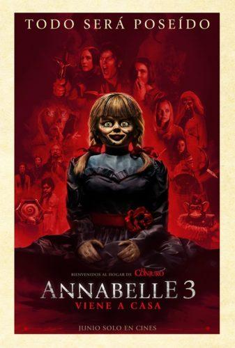 """Annabelle 3 """"Viene a casa""""."""
