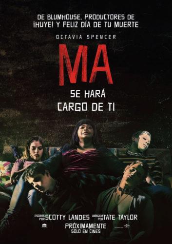 """Ma"" Llega a los cines"