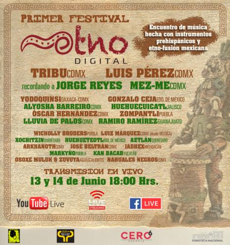 Llega el primer Festival ETNO Digital