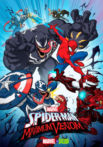 LLEGA A DISNEY XD LA TERCERA TEMPORADA DE MARVEL'S SPIDER-MAN: MAXIMUM VENOM