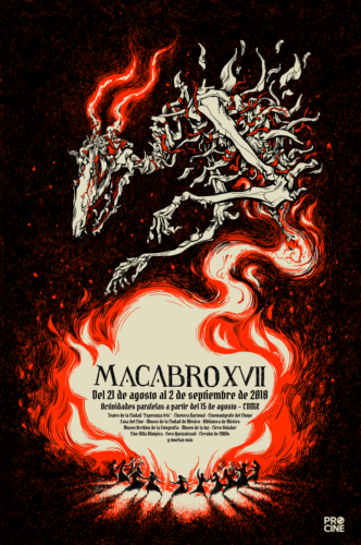 Llegó el Festival Macabro 2018