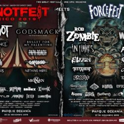 KNOTFEST MEETS FORCE FEST ANUNCIAN SU CARTEL FINAL