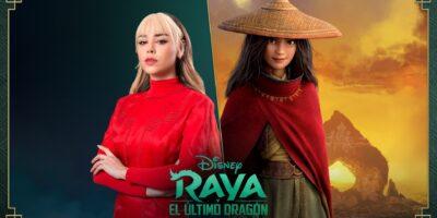 """DANNA PAOLA SERÁ LA VOZ DE """"RAYA"""" EN LA VERSIÓN EN ESPAÑOL PARA LATINOAMÉRICA DE RAYA Y EL ÚLTIMO DRAGÓN"""